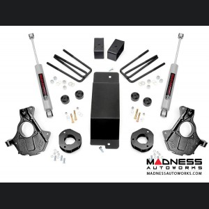 "Chevy Silverado 1500 4WD Suspension Lift Kit w/KNUCKLE KIT 4WD - 3.5"" Lift - Aluminum & Stamped"